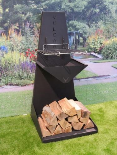 Foyer Brasero Multi Fonctions bois/charbon de bois