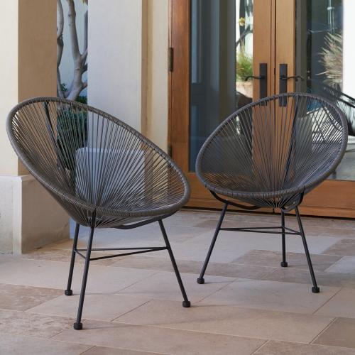 Ensemble de deux chaises Hidalgo